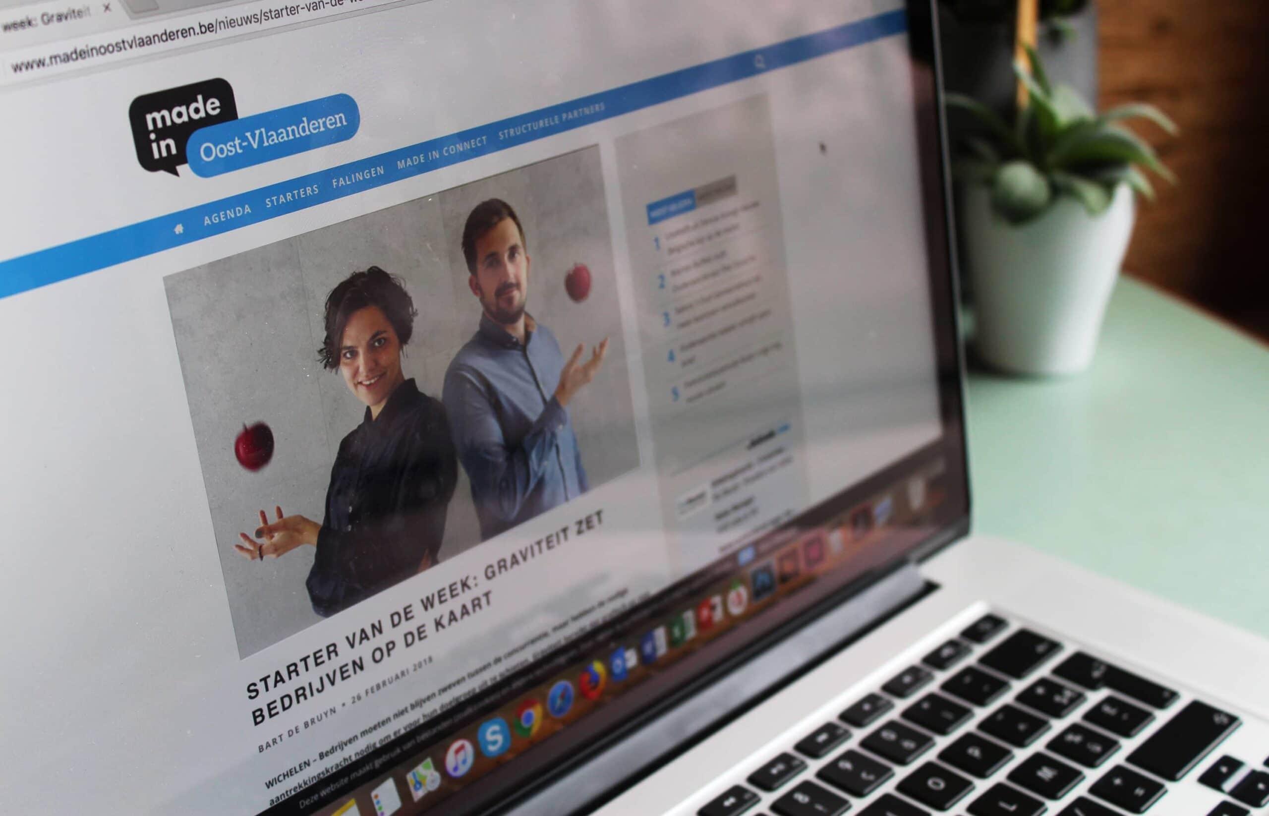 Graviteit Oost-Vlaams communicatiebureau