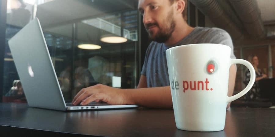 De Punt Bedrijvencentrum in Gent Frank Bedrijfscommunicatie
