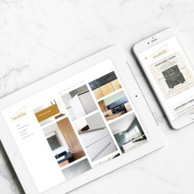 Portfolio Splendide Branding website tablet smartphone Keukens Serskamp Wichelen