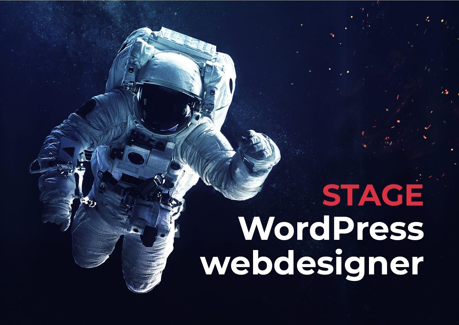 stage wordpress webdesigner gent