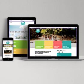 Missing you website laptop smartphone desktop tablet mockup portfolio