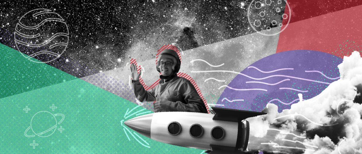 Robbe Haegeman Stage Grafisch ontwerp ruimtevaarder astronaut