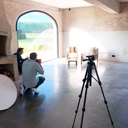 Robbe Haegeman Stage Grafisch ontwerp fotografie foto making off atelier fontein