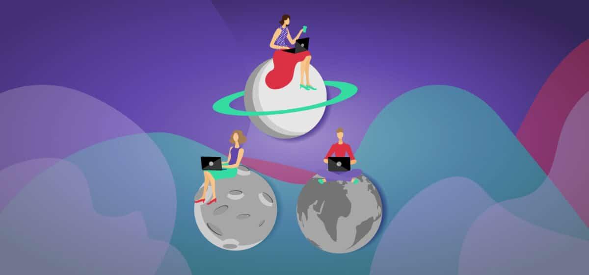 voordelen van telewerken planeten